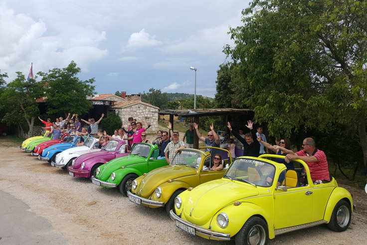 Hvar Daily tours with VW Beetle